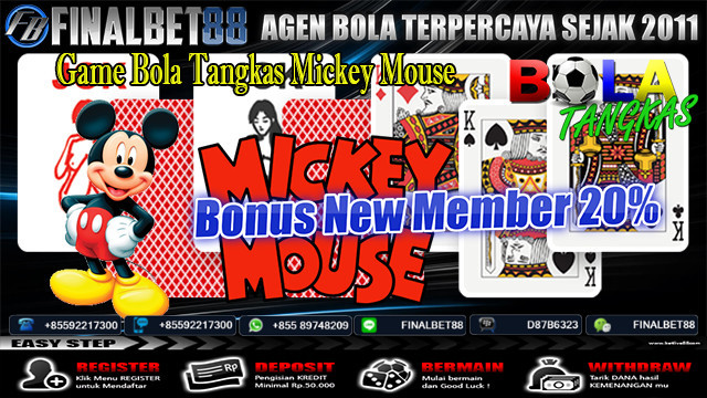 Game Bola Tangkas Mickey Mouse